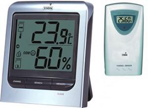 Hygromètre température et conservation du vin rouge