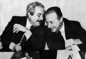 Sicile Juges Giovanni Falcone et Paolo Borsellino