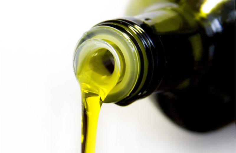 Conservation de l'huile d'olive extra vierge