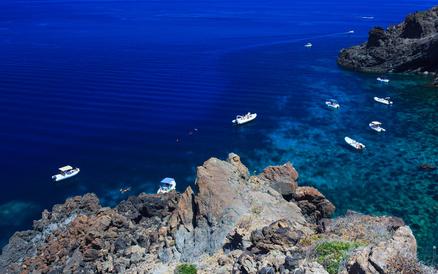 Criques à Pantelleria